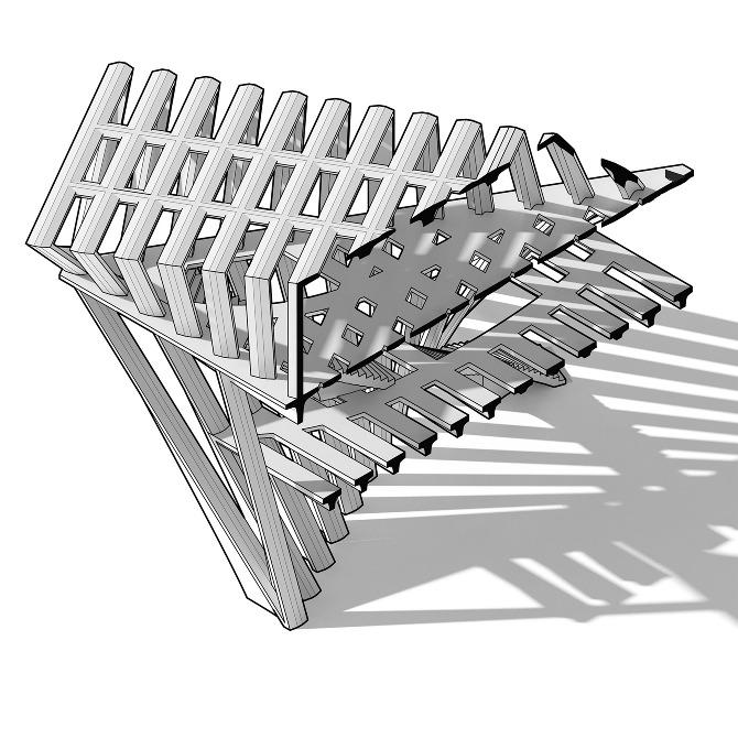 triangle rectangle floor plan daniel voshart design connections triangular 6